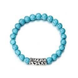 Blau Acryl Armband