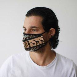 Modische Schutzmaske - Afrikanisches-Tribalmuster