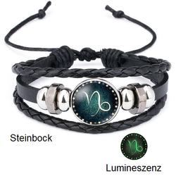 Steinbock - Lumineszenz Armband mit Sternzeichen