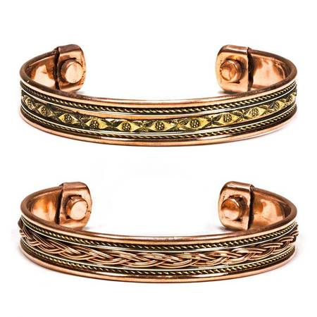 Armband Aus Kupfer (Set: 2 Stück)