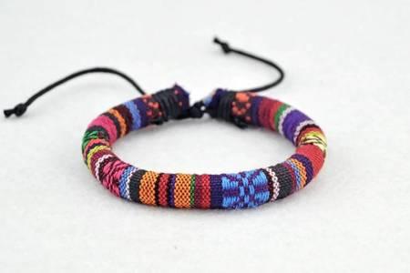 Geflochtenes Armband Aus Baumwolle BR22