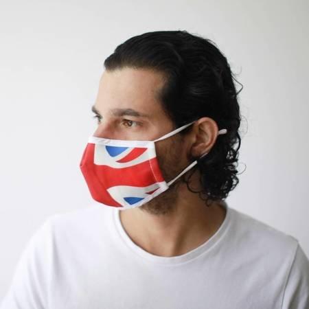 Modische Schutzmaske - Union Jack