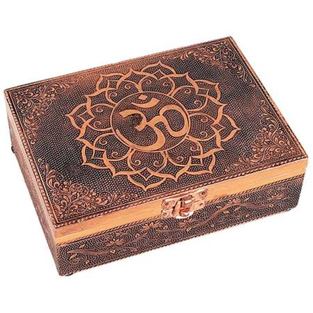 Tarot Box mit Mandala OM